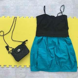 Black n' Blue Dress