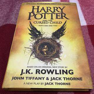 Harry Potter And The Cursed Child Part 1 And 2 (FIRST EDITION)