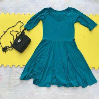 3/4 Skater Dress