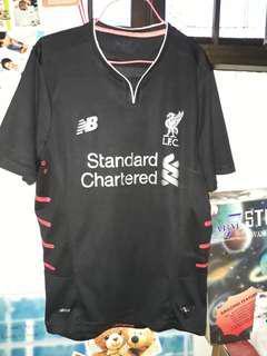 Liverpool Jersey Black Away