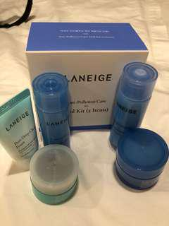 Laneige Anti-Pollution Care Trial Kit (5 Items)