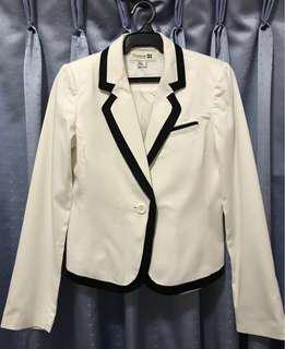 FOREVER 21 White Blazer (Preloved)