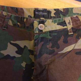 Obey camo pant - 32