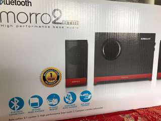 SonicGear Morro 2 BTMI Bluetooth Speaker with SD-Card slot FM Radio USB MP3 playing #UNDER90