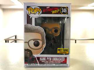 Funko Pop - Hank Pym Unmasked (Hot Topic Exclusive)
