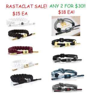 ✧FREE POSTAGE!✧AUTHENTIC✧Rastaclat Bracelet Sale!!✧