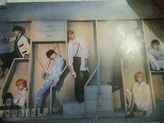 BTS LOVE YOURSELF : ANSWER POSTER #MMAR18