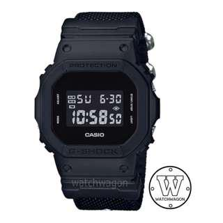 🚚 Brand New Casio G-Shock CORDURA Nylon Band DW-5600BBN-1   ..    dw-5600