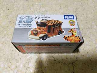 全新 Tomica Takara 10週年 亞洲 限定 復古 跳跳虎 Disney Motor Winnie the Pooh玩具車