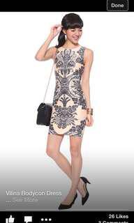 Love Bonito Vilina Bodycon Dress