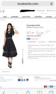 Love Bonito Covet Harlow Skirt