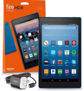Amazon kindle fire hd 8 16GB (Blue color)