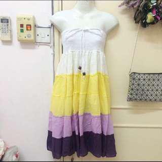 [new] two way dress/long skirt