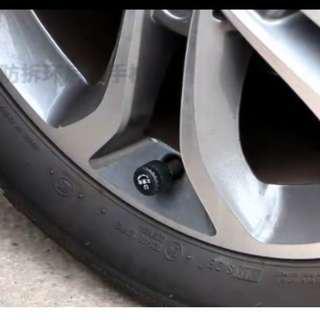 Car tyres pressure alarm