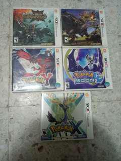 2nd NINTENDO 3DS GAMES IN GOOD CONDITION