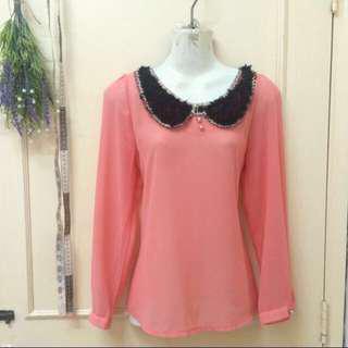 [new] chiffon blouse