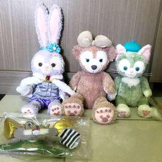 正品 正貨 正版 Duffy shelliemay gelatoni Stella Lou 達菲 雪莉玫 傑拉托尼 史黛拉 兔子 熊 貓咪 娃娃 玩偶 s號 s號衣服