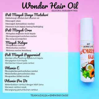 Wonder Hair Oil #UNDER90