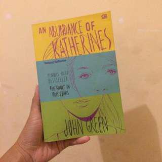 John Green - An Abundance of Katherines #atma2018