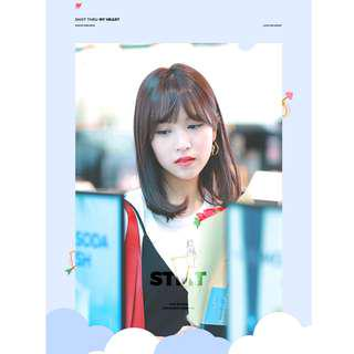 MINA - lovemenow_324 2019 Season Greeting  -  SHOT THRU MY HEART
