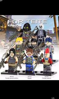 KF 6038 Game of Fortress Minifigures