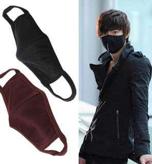Korean Black Mask Washable