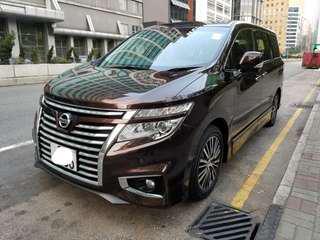 2014 Nissan Elgrand 2.5 highway star