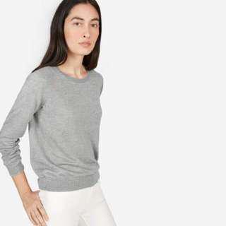 Everlane linen crew sweater