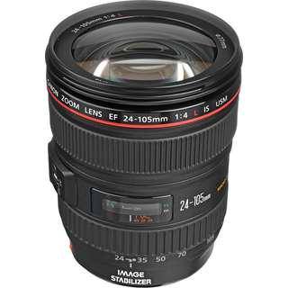 Canon 24-105 F4 IS USM L lens for sale