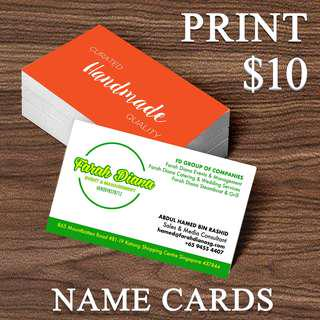 FAST AND CHEAP NAMECARDS / NAME CARD / BUSINESS CARDS PRINTING
