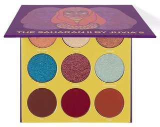 🌼SALE🌼[Authentic] Juvia's Place The Saharan II Eyeshadow Palette