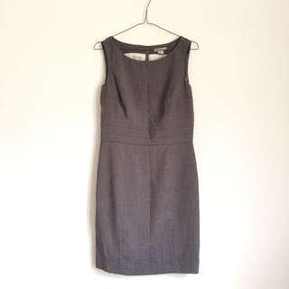 🚚 H&M簡約正式感小洋裝 深灰色