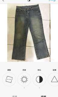 🚚 八分九分小直筒牛仔褲#九月女裝半價