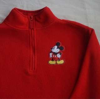 Mickey Mouse quarter zip