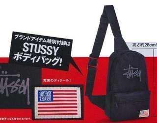 🚚 全新stussy*smart雜誌型錄斜背包