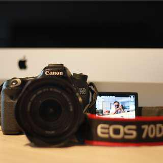 VIDEO POWERHOUSE CANON EOS 70D - FACE-DETECTION/TRACKING AF CONTINUOUS FOR VIDEO