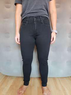 AG Adriano Goldschmied The farrah skinny high rise jeans.
