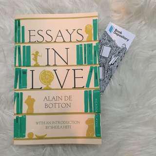 🚚 Essays In Love by Alain De Bottom