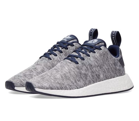 best service 65fda 6e04b Adidas X United Arrows & Sons NMD R2 - Grey