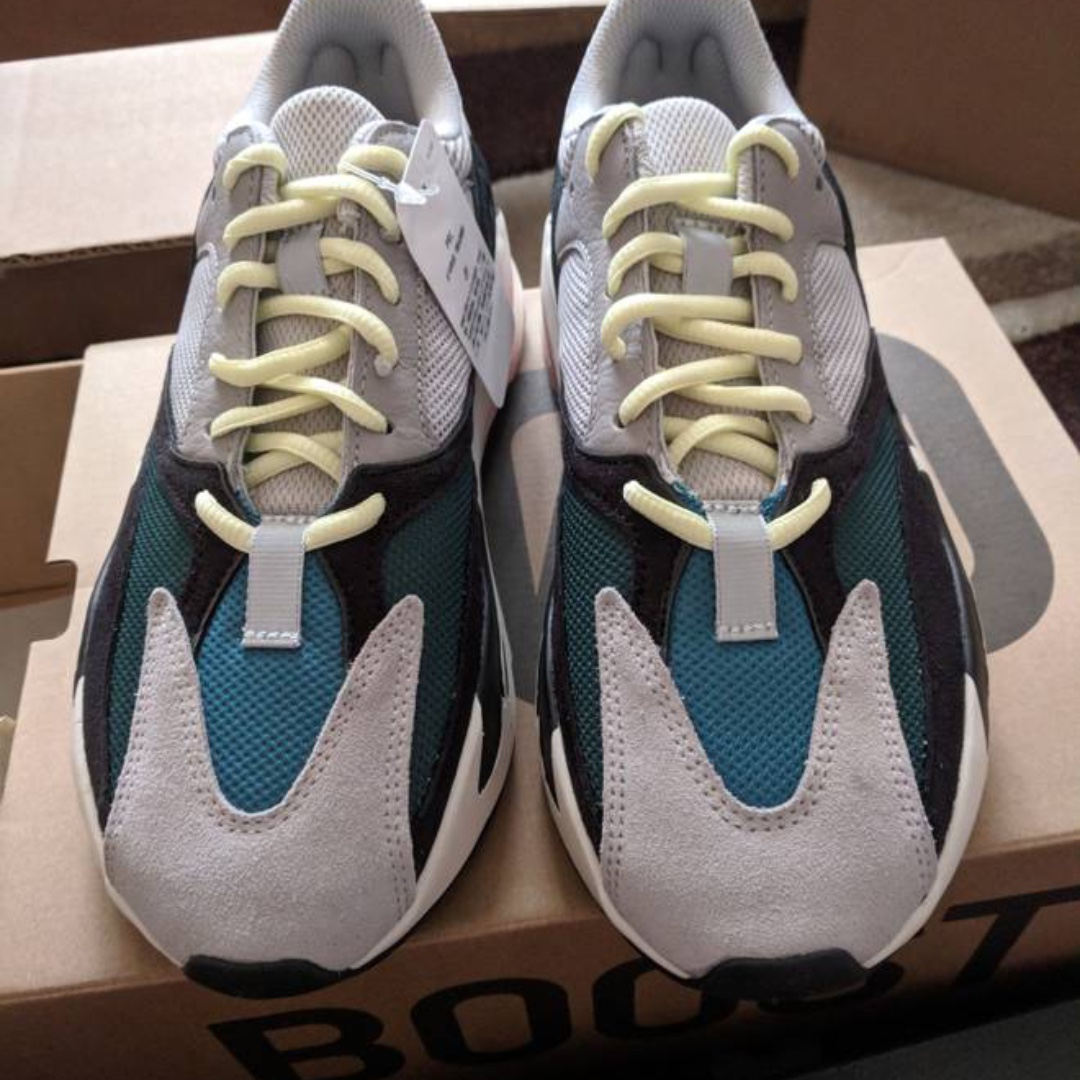 0d1a16e497b18 adidas Yeezy Wave Runner 700 Solid Grey