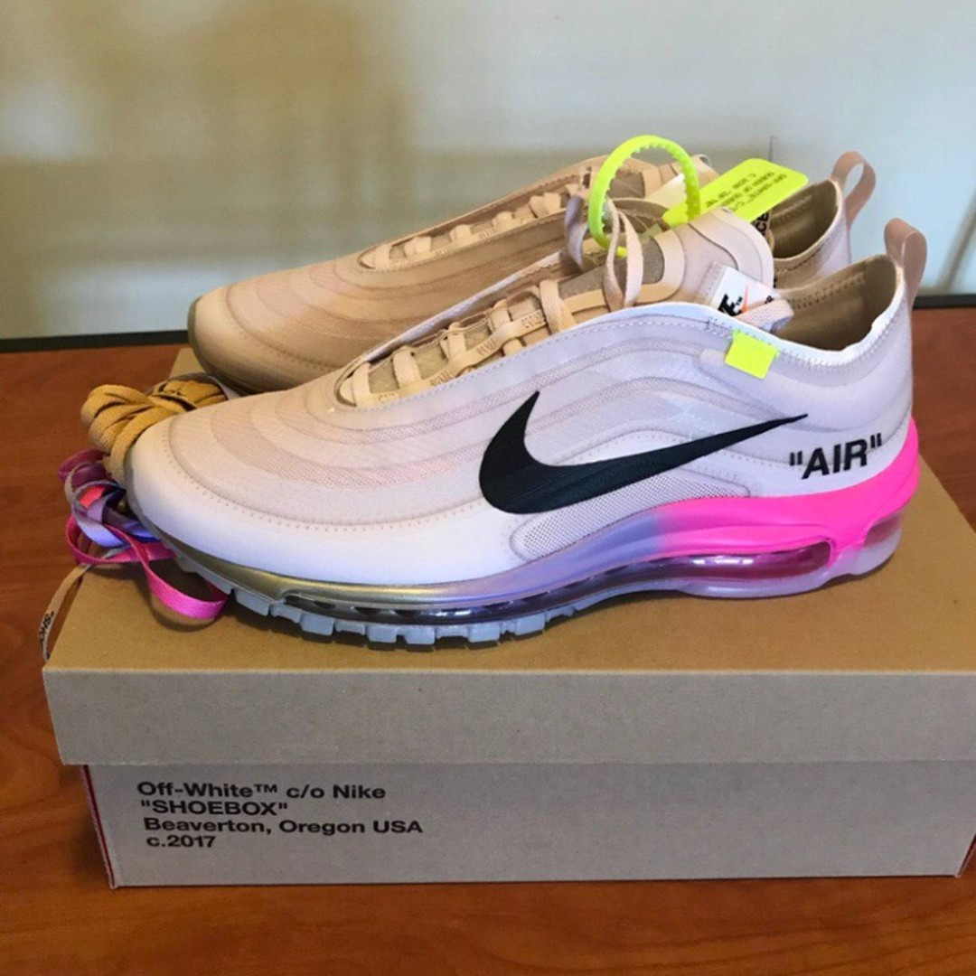 "2e377edee318 Air Max 97 x Off White Elemental Rose Serena ""Queen"""