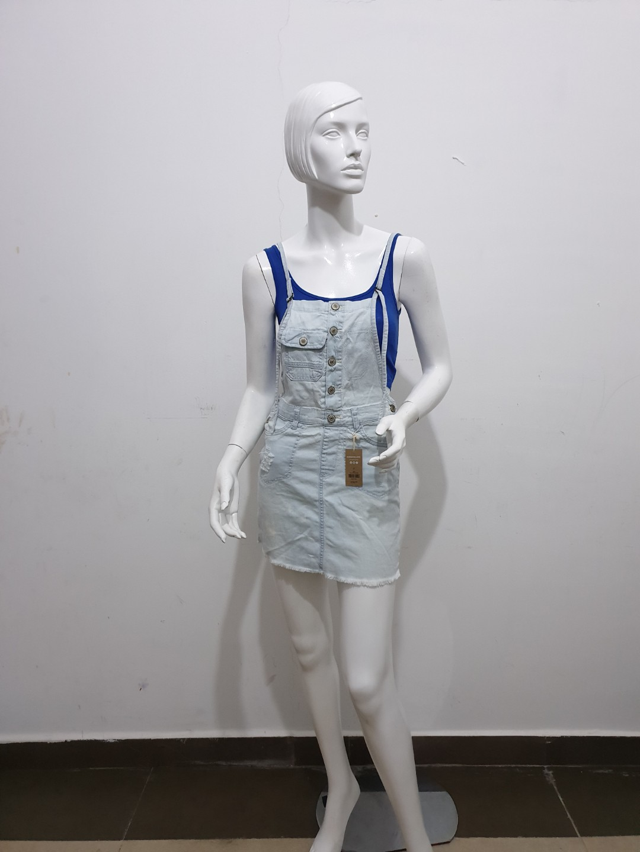 a83b29ed59 ARDENE (82) Soft Denim Jumper Skirt, Women's Fashion, Clothes, Dresses &  Skirts on Carousell