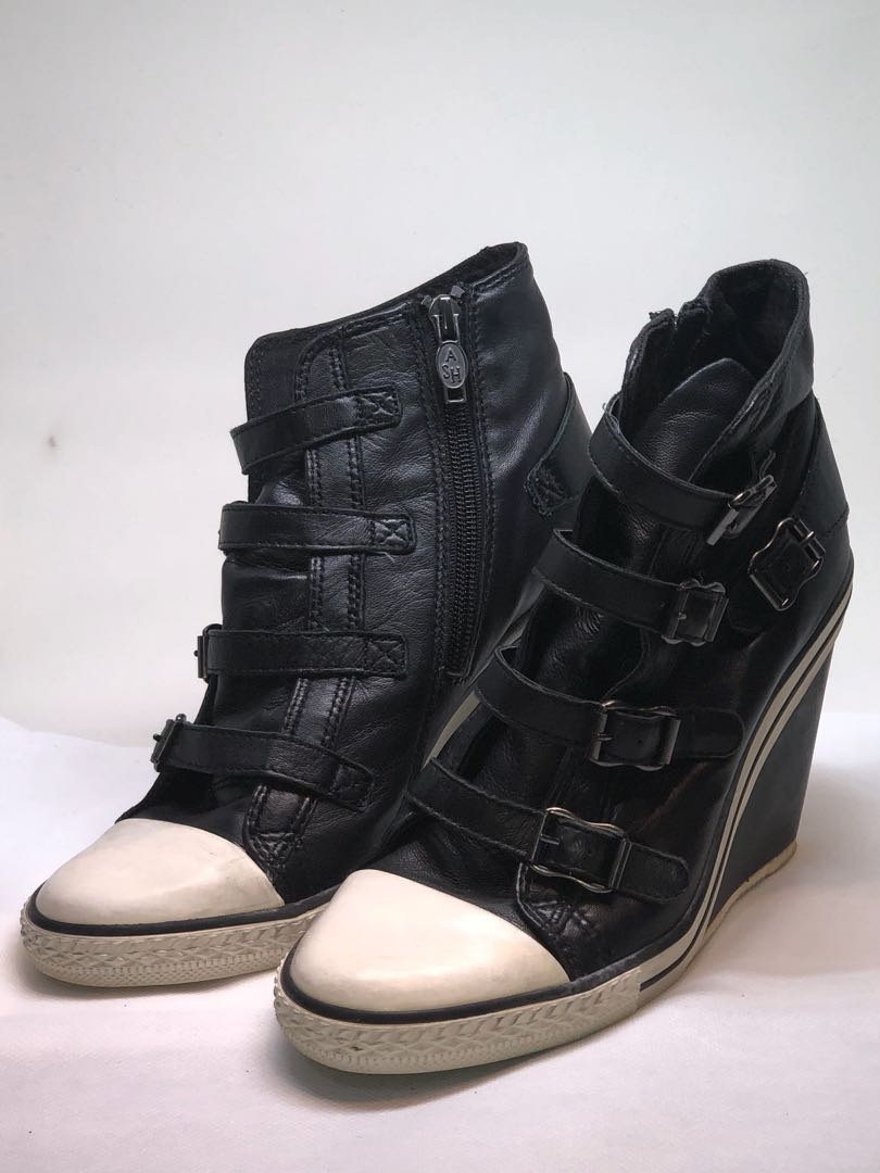 60a5a447d1a9 Ash Thelma Wedge Sneakers