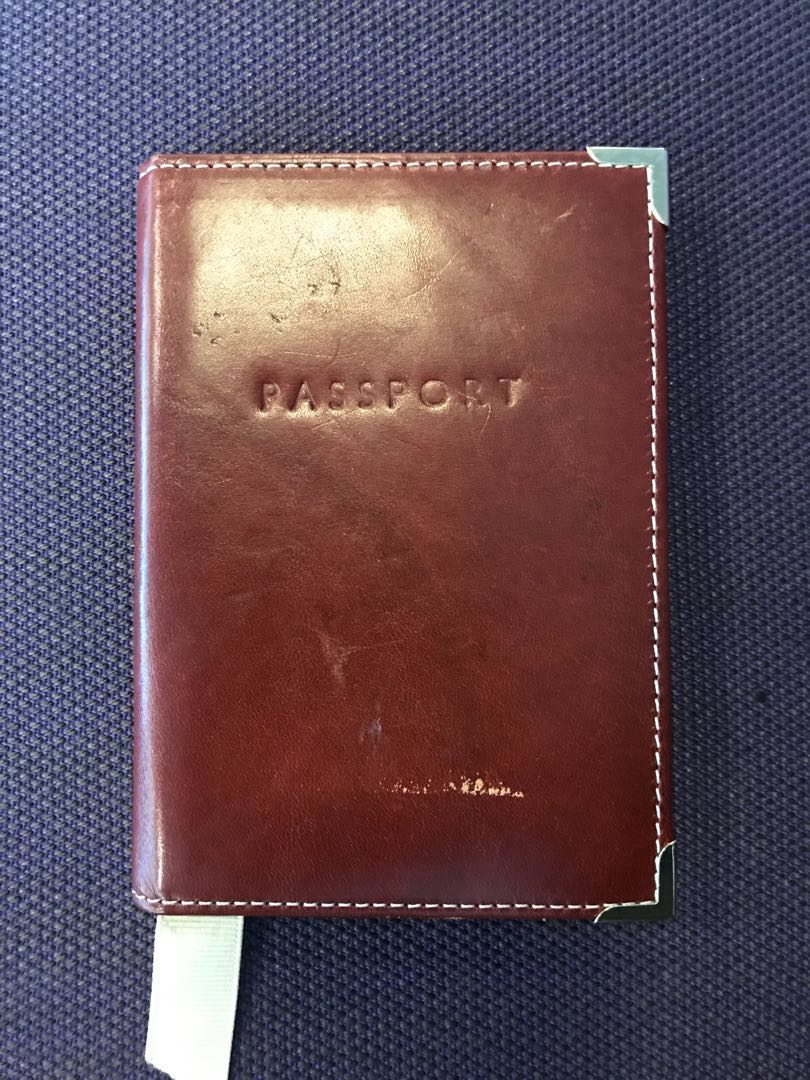 300d65a25 Aspinal of London Leather Passport Cover