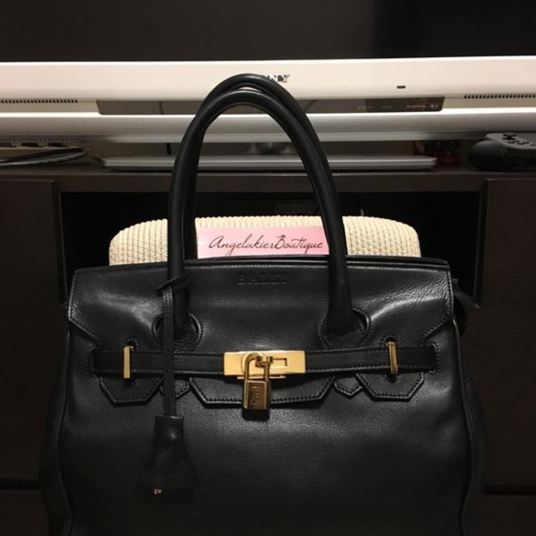 1acb6c979692 Authentic Bally Vintage Birkin Style Bag