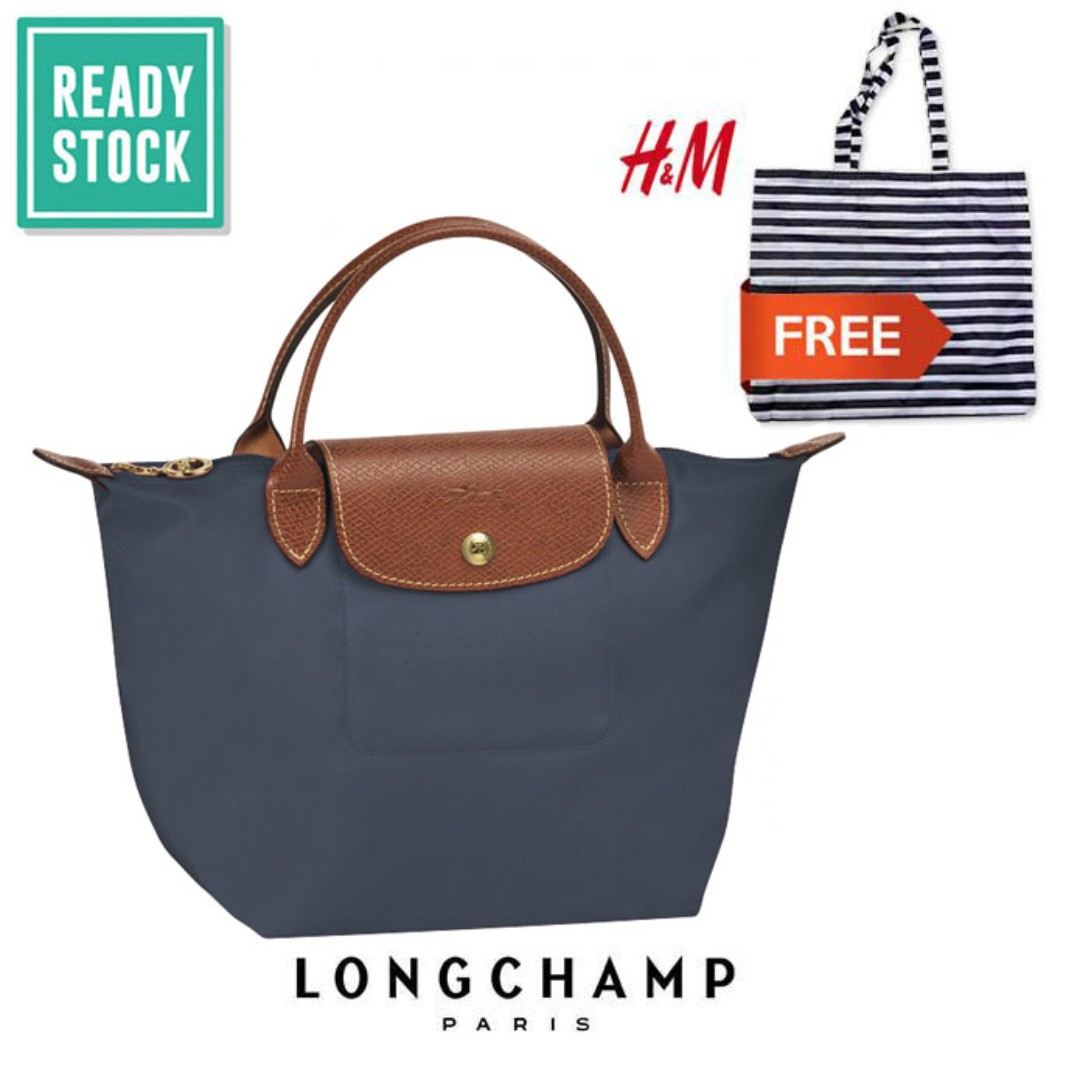 f5c2b6fbd2831 AUTHENTIC LONGCHAMP LE PLIAGE TOTE 1621089 SMALL SHORT HANDLE ...