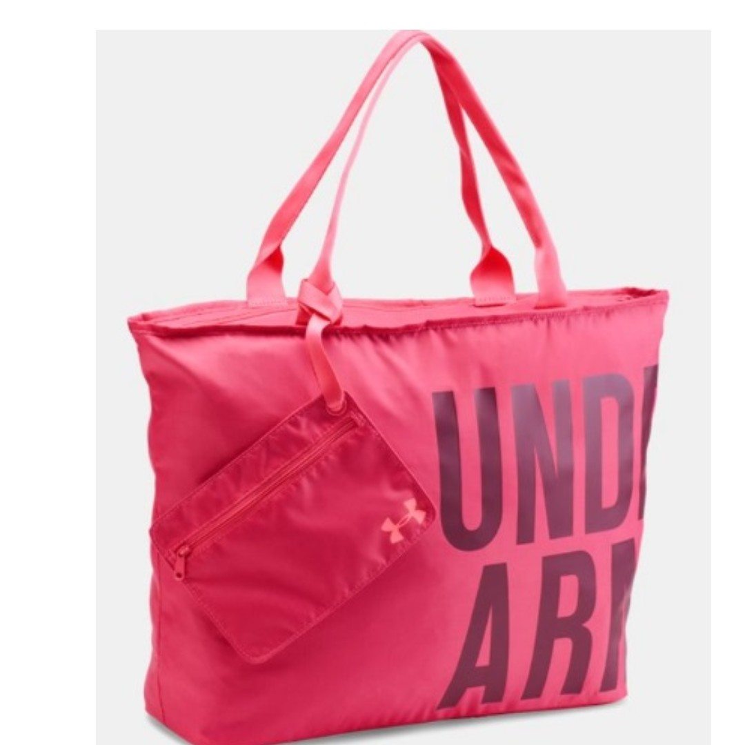 2a1c19a897 Authentic Under Armour Big Wordmark Tote Women s Bag - Pink ...