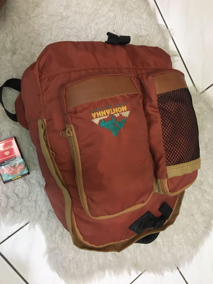 f249faa2f3fe Backpack Montanha alpine equipment