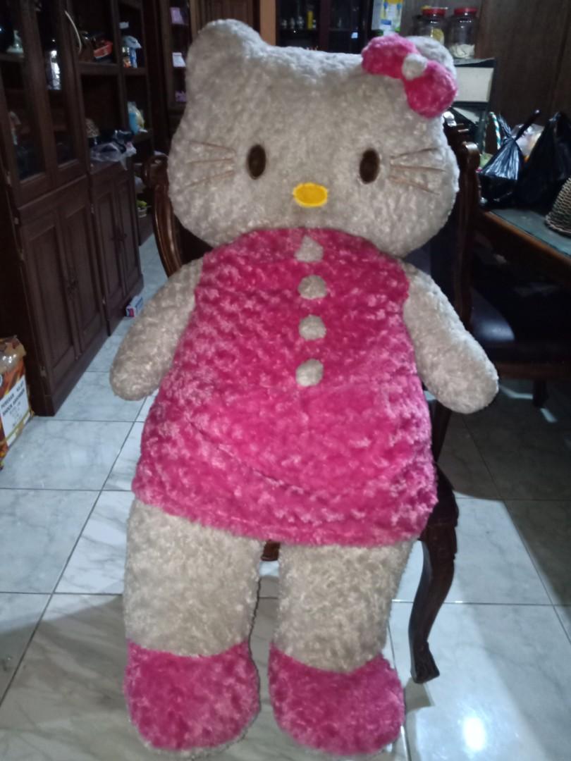 Boneka Hello Kitty Besar Jumbo Toys Keropi Collectibles On Carousell