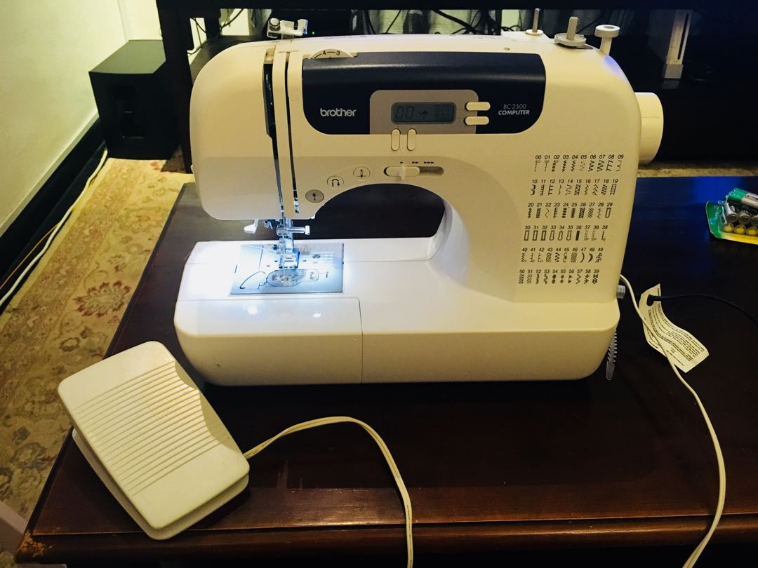 Brother BC-2500 Sewing Machine, Home Appliances, Cleaning & Laundry on  Carousell